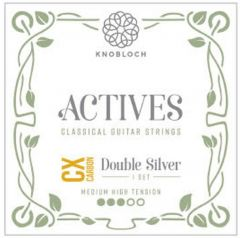 Knobloch  ACTIVES DOUBLE SILVER CX CARBON 400ADC  Medium High Tension