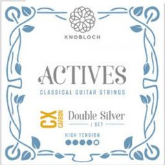 Knobloch  ACTIVES DOUBLE SILVER CX CARBON 500ADC  High Tension