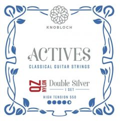 Knobloch ACTIVES DOUBLE SILVER QZ NYLON 550ADQ High Tension