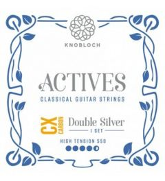 Knobloch ACTIVES DOUBLE SILVER CX CARBON 550ADC High Tension